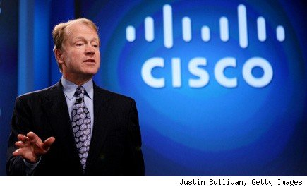 John Chambers, Cisco Systems CEO