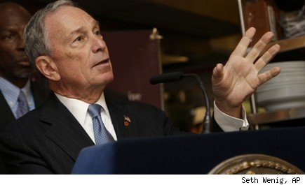 Michael Bloomberg unemployment