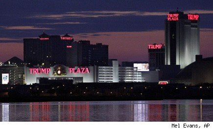Trump Plaza layoffs job cuts