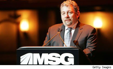 Knicks owner James Dolan fires a worker on the spot for recognizing him.