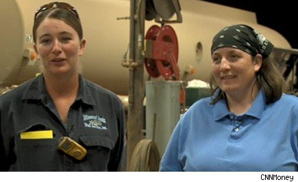 Women snagged nearly half of oil and gas jobs last quarter.