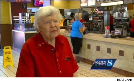 oldest McDonald's worker