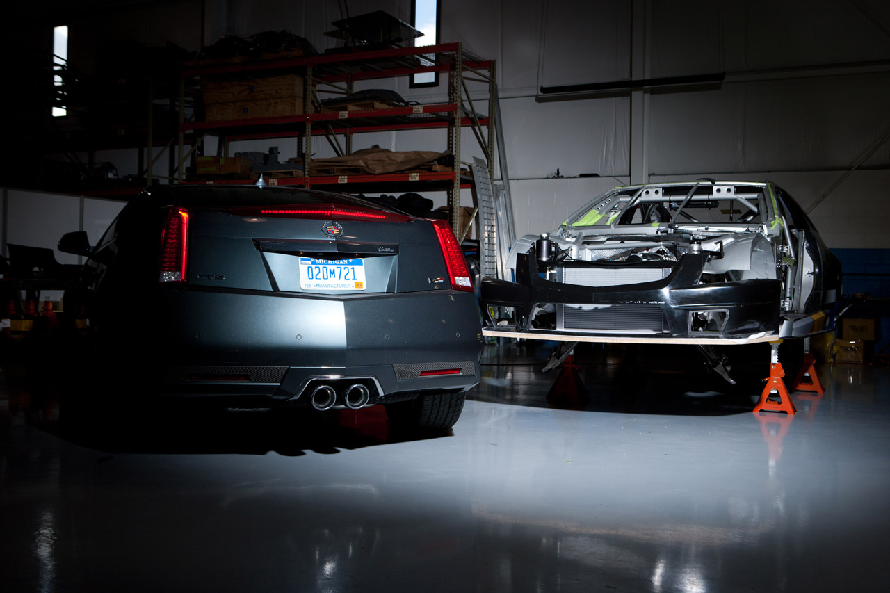 2010 Cadillac CTS V Coupe Race Car photo - 2