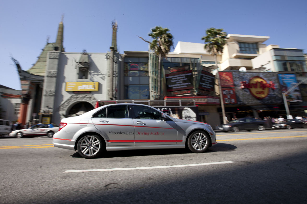 Mercedes Benz Driving Academy Los Angeles Autoblog 日本版
