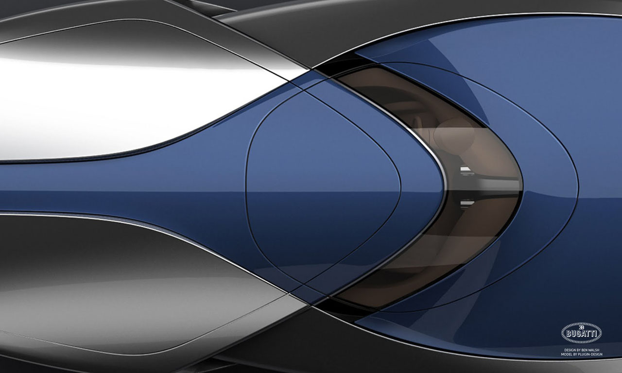 bugatti veyron sang bleu speedboat concept by ben walsh 1 autobl. Black Bedroom Furniture Sets. Home Design Ideas