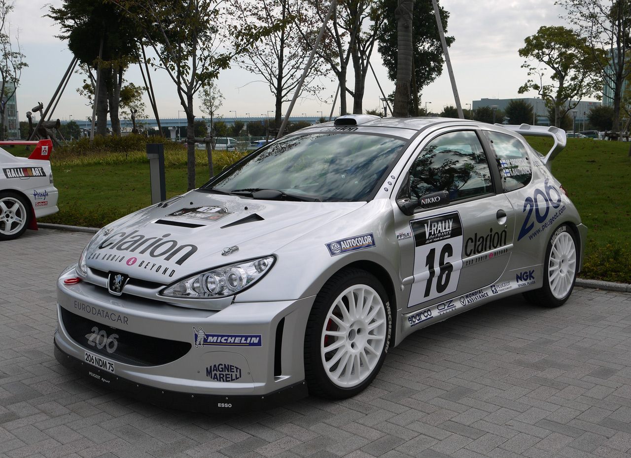 peugeot 206 wrc 2000 replica autoblog. Black Bedroom Furniture Sets. Home Design Ideas