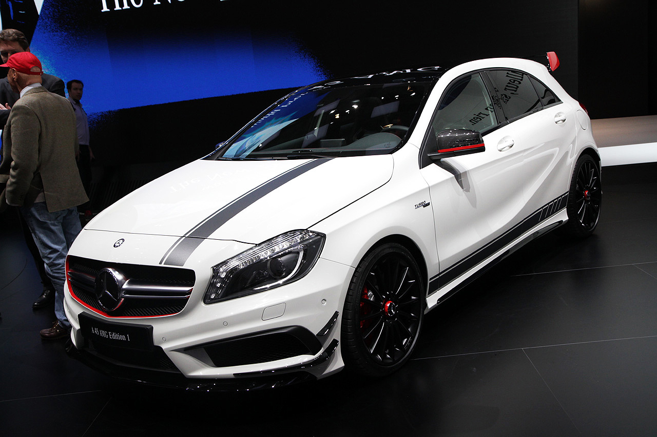 2014 Mercedes Benz A45 Amg Edition 1 Geneva 2013