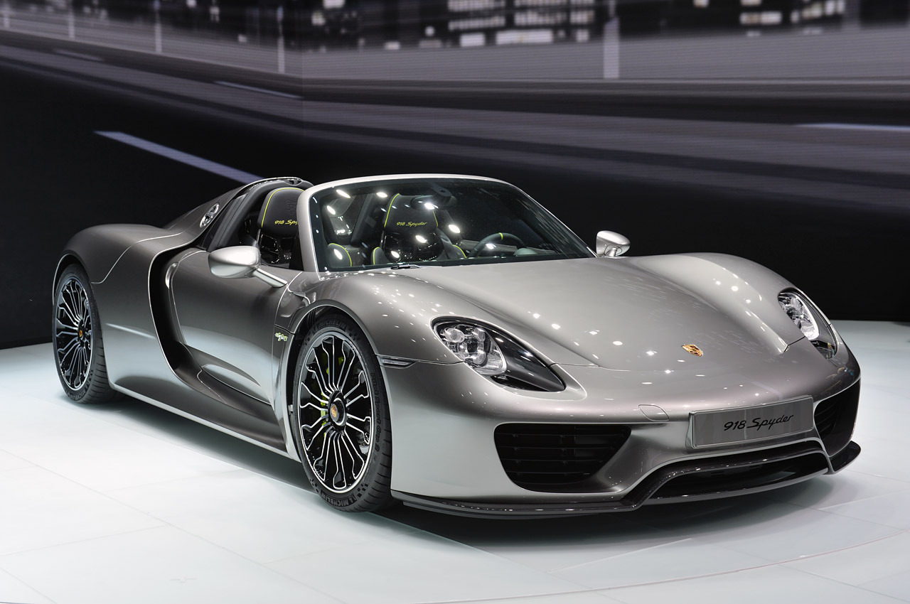 porsche 918 spyder frankfurt 2013 photos autoblog. Black Bedroom Furniture Sets. Home Design Ideas