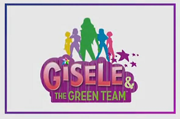 gisele and the green team logo