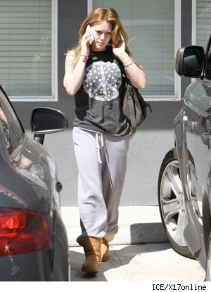 Hilary Duff UGG Bailey Boots