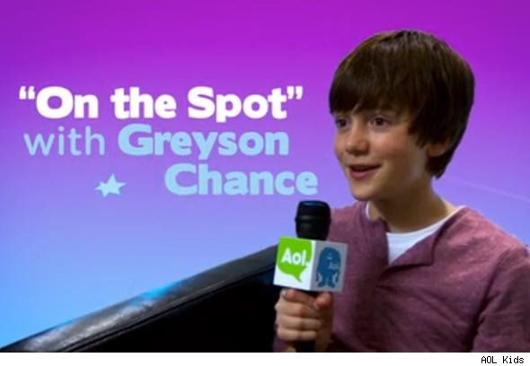 Greyson Chance on the Spot