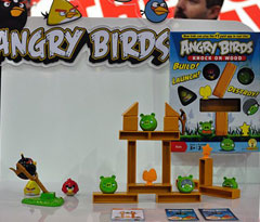 Angry Birds Mattel game