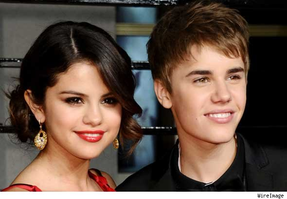 Justin Bieber and Selena Gomez Attend Academy Awards After Party