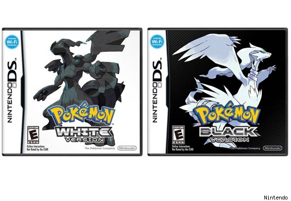 White and Black Pokemon Game