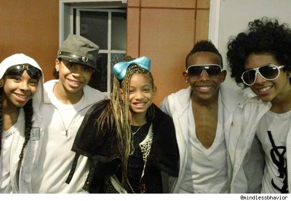 Mindless Behavior and Willow Smith