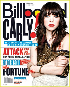 Carly Rae Jepsen on the Cover of Billboard Magazine