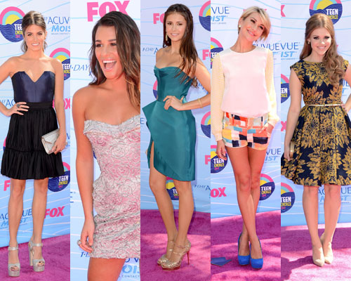 2012 Teen Choice Award Pictures