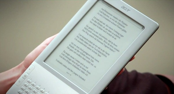 Acer LumiReader e-reader launched