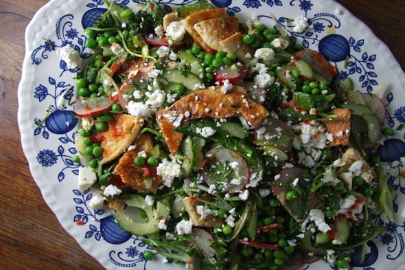 Simple, speedy suppers: Spring fattoush