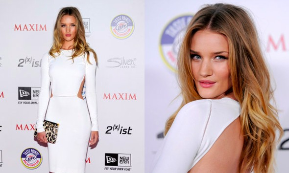 rosie huntington whiteley weight. Rosie Huntington-Whiteley says