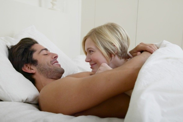 Men love to cuddle while women just want to have sex