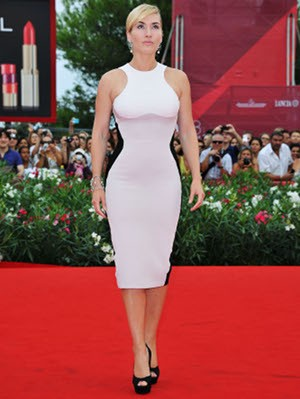 kategetty Kate Winslets Red Carpet Dress in Venice Film Festival 2011
