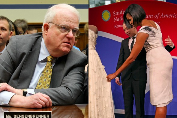 Overweight Congressman says Michelle Obama has a 'large posterior'