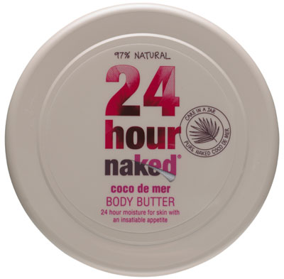 A hydrating body butter