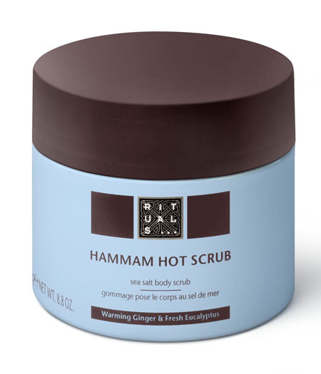 A pampering scrub