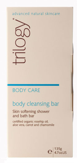 A body cleansing bar