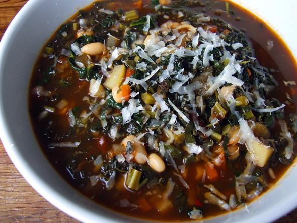 One-Pot Winter Warmers: Winter minestrone
