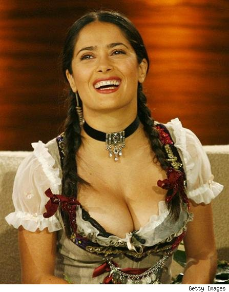  Salma Hayek  sexy