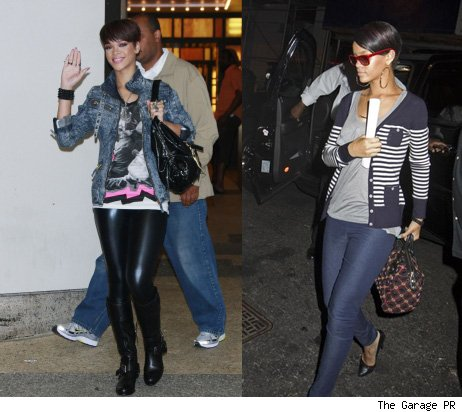 Rihanna in Factory Girl leggings