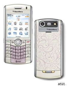 blackberry pink henna phone