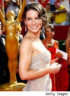 Evangeline Lilly at the Emmys