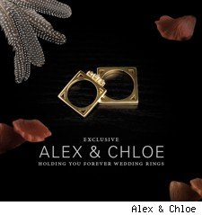 Alex & Chloe Wedding Rings