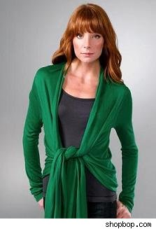 Shopbop Green Cardigan