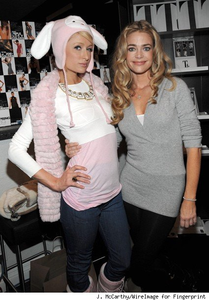 paris hilton, denise richards