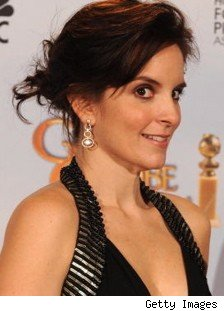 Tina Fey at the 2009 Golden Globe Awards