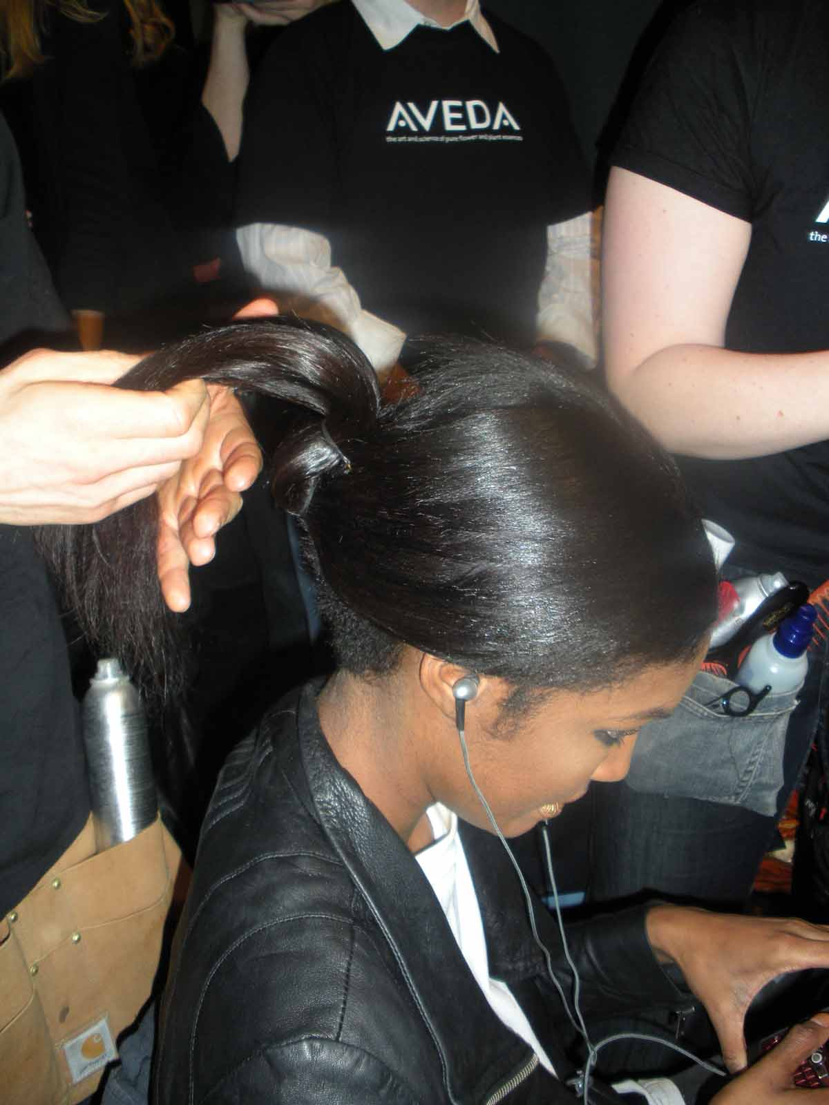 Fall 2009 Fashion Week: Backstage Beauty at Christian Siriano