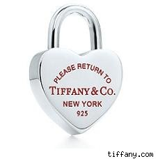 Tiffany Lock charm