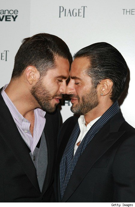 Lovebirds Lorenzo Martone and Marc Jacobs