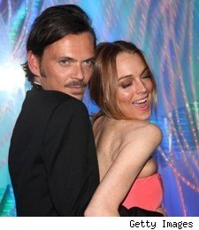 matthew williamson, lindsay lohan