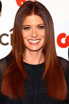 debra messing at the cookie awards