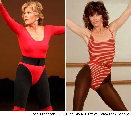 Back in the 1980s, Fonda's workout videos sold millions of copies and women