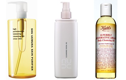 facial cleansing oils