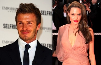 david beckham angelina jolie