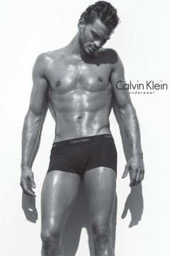 male calvin klein underwear model