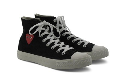 Converse collaboration with Comme des Garcons.