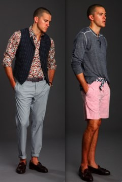 preppy male models